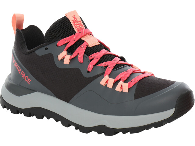 The North Face Activist Lite Shoes Women, tnf black/calypso coral